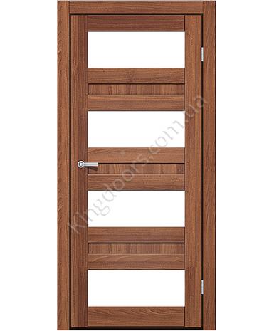 """Межкомнатные двери CTD 214. Пленка ПВХ. Фабрика """"Art Door"""". Цвет орех"""