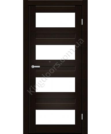 """Межкомнатные двери CTD 214. Пленка ПВХ. Фабрика """"Art Door"""". Цвет венге"""