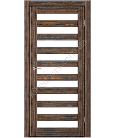 """Межкомнатные двери CTD 312. Пленка ПВХ. Фабрика """"Art Door"""". Цвет зебрано"""
