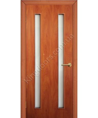 """Межкомнатные двери """"Вероника"""" ПО. Фабрика Омис. Ламинированные. Цвет - груша"""