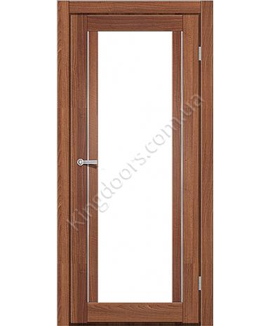 """Межкомнатные двери M 502. Пленка ПВХ. Фабрика """"Art Door"""". Цвет орех"""
