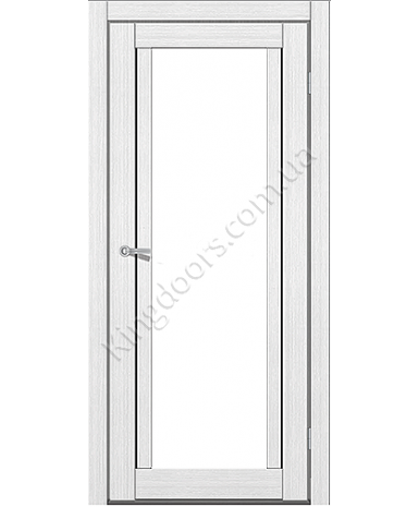 """Межкомнатные двери M 502. Пленка ПВХ. Фабрика """"Art Door"""". Цвет белый"""