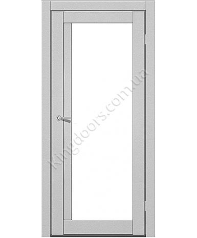 """Межкомнатные двери M 602. Пленка ПВХ. Фабрика """"Art Door"""". Цвет металлик"""