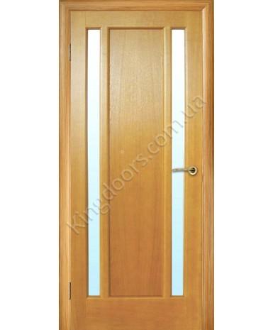 """Межкомнатные шпонированные двери """"Текстон"""" ПО.  НСД. Цвет - абрикос"""