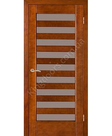 """Межкомнатные шпонированные двери """"Астория"""" ПО.  НСД. Цвет - вишня"""