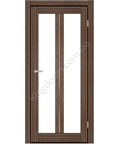 """Межкомнатные двери M 702. Пленка ПВХ. Фабрика """"Art Door"""". Цвет зебрано"""