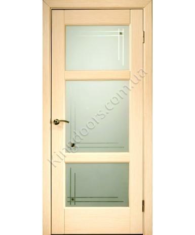 """Межкомнатные шпонированные двери """"Генри"""" ПОО.  НСД. Цвет - дуб классический"""