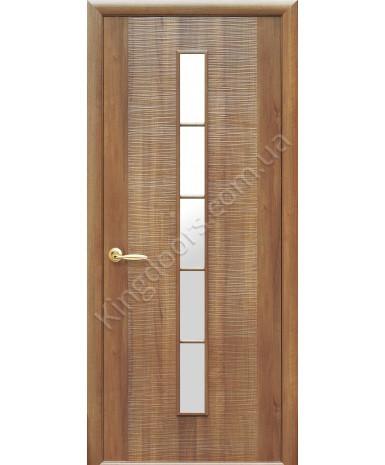 """Межкомнатные двери """"Дюна 1 S"""",ПГ. пленка ПВХ, фабрика """"Новый стиль"""", цвет - золотая ольха"""