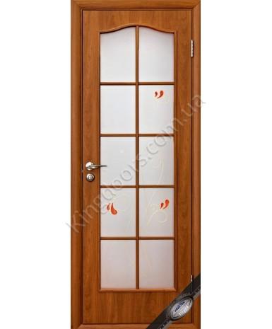 """Межкомнатные двери """"Фортис С"""",ПОО +Р1. пленка ПВХ, фабрика """"Новый стиль"""", цвет - ольха"""