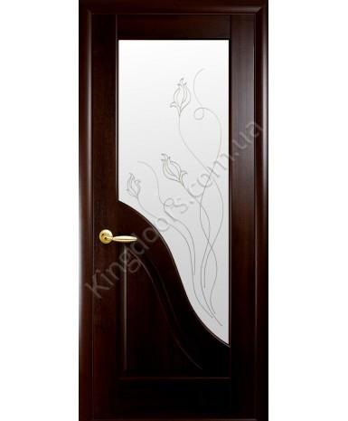 """Межкомнатные двери """"Амата"""",ПО +Р2. пленка ПВХ, фабрика """"Новый стиль"""", цвет - венге."""