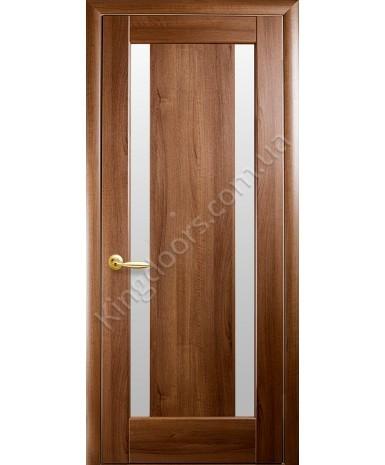 """Межкомнатные двери """"Босса"""",ПО, пленка ПВХ, фабрика """"Новый стиль"""", цвет - золотая ольха."""