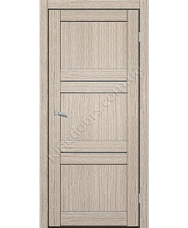 """Межкомнатные двери M 201. Пленка ПВХ. Фабрика """"Art Door"""". Цвет беленый дуб"""