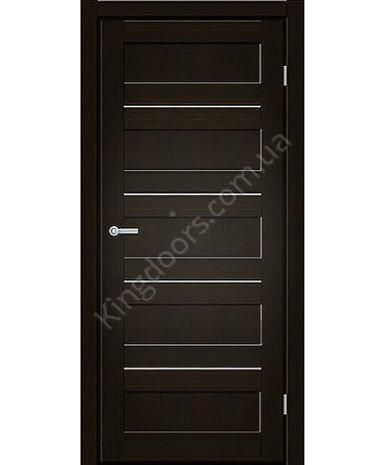 """Межкомнатные двери M 401. Пленка ПВХ. Фабрика """"Art Door"""". Цвет венге"""