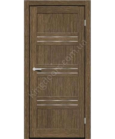 """Межкомнатные двери M 41. Пленка ПВХ. Фабрика """"Art Door"""". Цвет зебрано"""