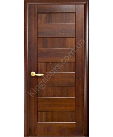 """Межкомнатные двери """"Пиана"""",ПГ, пленка ПВХ, фабрика """"Новый стиль"""", цвет - каштан."""