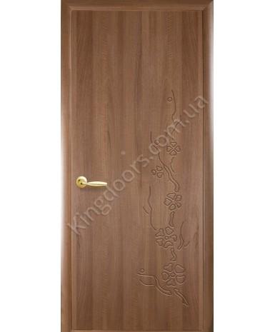 """Межкомнатные двери """"Колори Сакура"""" ПГ, пленка ПВХ,фабрика """"Новый стиль"""", цвет - золотая ольха."""