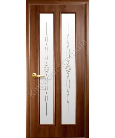 """Межкомнатные двери """"Стелла"""",ПО +Р1. пленка ПВХ, фабрика """"Новый стиль"""", цвет - золотая ольха"""