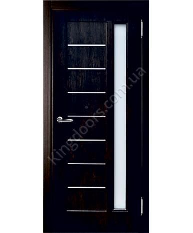 """Межкомнатные двери """"Виктория"""" ПО. Покрытие пленка ПВХ. Фабрика """"Феникс"""" Цвет - тиковое дерево"""