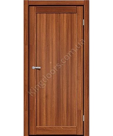 """Межкомнатные двери ART 01-01. Пленка ПВХ. Фабрика """"Art Door"""". Цвет орех"""
