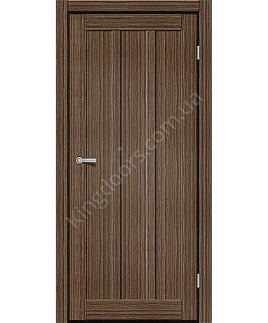 """Межкомнатные двери ART 05-01. Пленка ПВХ. Фабрика """"Art Door"""". Цвет зебрано"""