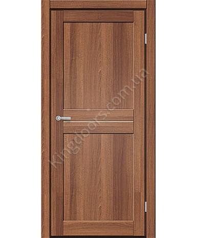 """Межкомнатные двери M 101. Пленка ПВХ. Фабрика """"Art Door"""". Цвет орех"""
