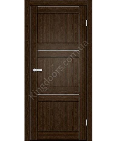 "Межкомнатные двери M 201. Пленка ПВХ. Фабрика ""Art Door"". Цвет каштан"