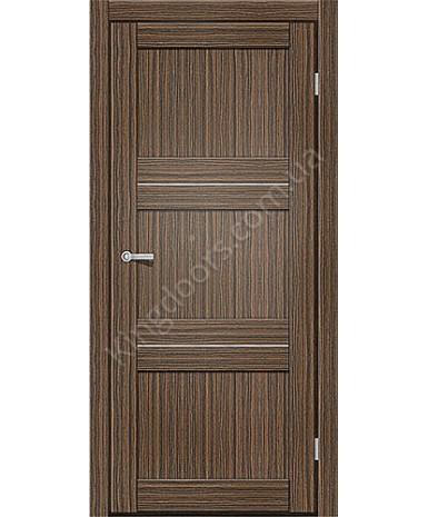 """Межкомнатные двери M 201. Пленка ПВХ. Фабрика """"Art Door"""". Цвет зебрано"""