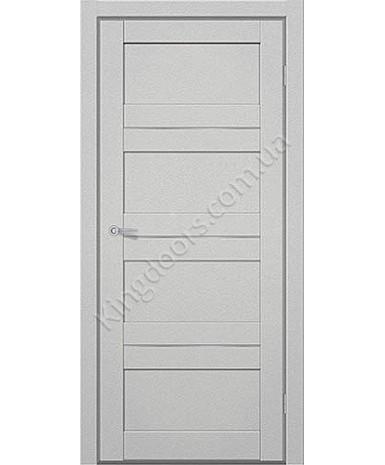 """Межкомнатные двери M 301. Пленка ПВХ. Фабрика """"Art Door"""". Цвет металлик"""