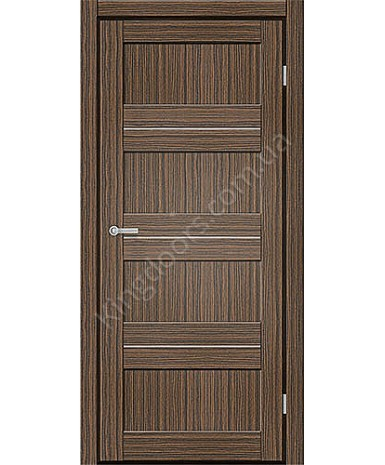 """Межкомнатные двери M 301. Пленка ПВХ. Фабрика """"Art Door"""". Цвет зебрано"""
