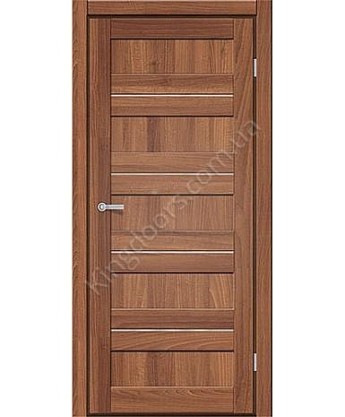 """Межкомнатные двери M 401. Пленка ПВХ. Фабрика """"Art Door"""". Цвет орех"""