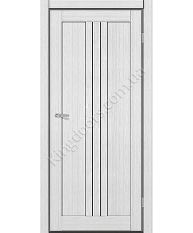 """Межкомнатные двери M 801. Пленка ПВХ. Фабрика """"Art Door"""". Цвет белый"""