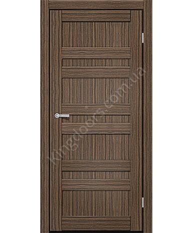 """Межкомнатные двери CTD 211. Пленка ПВХ. Фабрика """"Art Door"""". Цвет зебрано"""