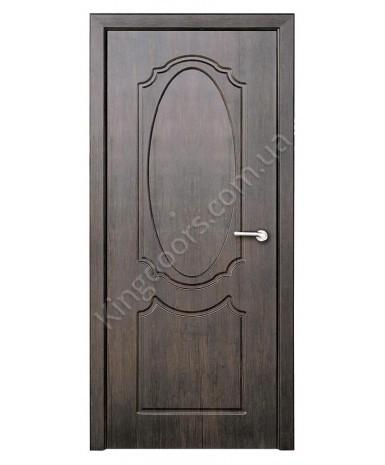 """Межкомнатные двери """"Зеркало"""" ПГ. Покрытие пленка ПВХ. Фабрика """"Феникс"""" Цвет - тиковое дерево"""