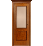 """Межкомнатные шпонированные двери """"Гранд"""" ПГ.  Двери Белоруссии. Цвет - орех"""