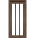 """Межкомнатные двери ART 06-02. Пленка ПВХ. Фабрика """"Art Door"""". Цвет орех"""