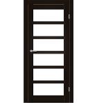 """Межкомнатные двери ART 08-02. Пленка ПВХ. Фабрика """"Art Door"""". Цвет венге"""