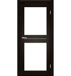 "Межкомнатные двери M 102. Пленка ПВХ. Фабрика ""Art Door"". Цвет каштан"