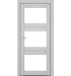 "Межкомнатные двери M 202. Пленка ПВХ. Фабрика ""Art Door"". Цвет каштан"