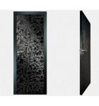 """Межкомнатные стеклокаркасные двери. Модель """"20 MB"""". Фабрика Аксиома. Покрытие зеркало. Цвет"""