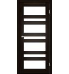 """Межкомнатные двери CTD 212. Пленка ПВХ. Фабрика """"Art Door"""". Цвет Дуб капучино"""