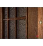 """Межкомнатные шпонированные двери """"Капри 3"""" ПОО.  Двери Белоруссии. Цвет - дуб тонированный"""