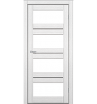 """Межкомнатные двери M 302. Пленка ПВХ. Фабрика """"Art Door"""". Цвет белый"""