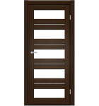 "Межкомнатные двери M 402. Пленка ПВХ. Фабрика ""Art Door"". Цвет каштан"