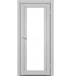 """Межкомнатные двери M 502. Пленка ПВХ. Фабрика """"Art Door"""". Цвет зебрано"""