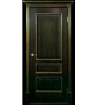 """Межкомнатные шпонированные двери """"Вена - Ш"""" ПО.  Двери Белоруссии. Цвет - орех"""