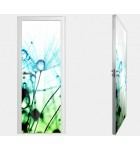 """Межкомнатные стеклокаркасные двери. Модель """"05 F"""". Фабрика Аксиома. Покрытие зеркало. фотопечать"""