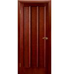 """Межкомнатные шпонированные двери """"Троя"""" ПОО.  Двери Белоруссии. Цвет - темный орех"""