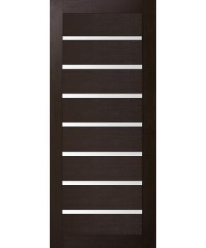 """Межкомнатные двери """"Лагуна"""" ПО. Фабрика Омис. Покрытие пленка ПВХ. Цвет - венге"""