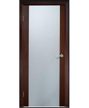 """Межкомнатные шпонированные двери """"Милано 2"""" ПО.  Галерея дверей. Цвет - венге"""