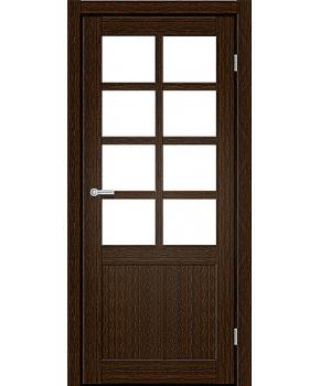 "Межкомнатные двери RTR 02. Пленка ПВХ. Фабрика ""Art Door"". Цвет каштан"